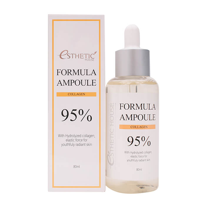Сыворотка для лица Esthetic House с коллагеном FORMULA AMPOULE COLLAGEN 80 мл- фото2